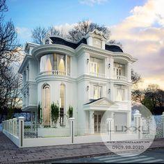hiết kế Biệt Thự Tân Cổ Điển tuyệt đẹp trên sườn núi Ocean View, thành phố Nha Trang