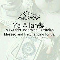 Ameen.. Blusshhh😍 Mubarak Ramadan, Islam Ramadan, Happy Eid Mubarak, Jumma Mubarak, Saw Quotes, Great Quotes, Islam Muslim, Islam Quran, Quran Quotes