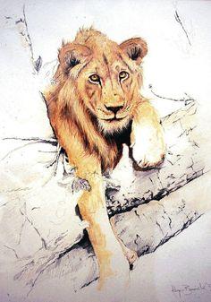 Art of Roger Bonnick WATERCOLOR