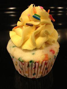 Rainbow Confetti Cake
