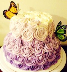 Finding Fairy Tales: DIY Project #2: Rose Swirl Cake Tutorial