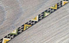 Armbandje Aztec met Miyuki kraaltjes Gold plated door YRSarmcandy