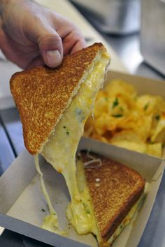 The classic grilled cheese sandwich is trendy again | CharlotteObserver.com