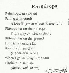 Raindrops singalong