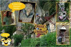 C'est près de Cabrerets  (Lot) que s'est établi l'artiste autodidacte Bertrand Chenu. Son « musée de l'Insolite», un jardin et une maison troglodytique, présente des créations bizarres : animaux et personnages fantastiques, totems, voitures encastrées dans la pierre, pièces forgées sur place… Poésie et humour font ici bon ménage. Imaginez un lieu qui donne une seconde vie aux objets les plus ordinaires, les plus inutiles, les plus usés. Une seconde vie poétique, drôle, incongrue
