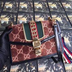 Unique API key is not valid for this user. Gucci Handbags Sale, Gucci Bags, Gucci Sylvie, Small Shoulder Bag, Cross Body Handbags, Kylie Jenner, Louis Vuitton Monogram, Velvet, Brown