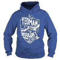 It is a YEOMAN Thing - YEOMAN Last Name, Surname T-Shirt