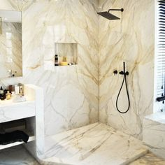 here is a marble cladding for every room and decorative style. Cladding, Natural Stones, Landscaping, Marble, Hotels, Interiors, Interior Design, Architecture, Room