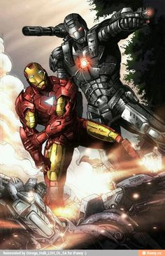 Iron Man and War Machine...........................