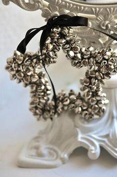 jingle bell star ornament
