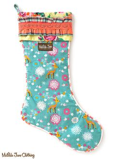 Once upon a time...Fall 2016: Baby Doe Stocking