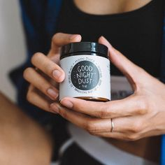 Our favorite nightcap: Goodnight Dust from @Moonjuiceshop helps you say goodnight to nerves, thanks to natural ingredients that tranquilize blood flow, promote natural melatonin release and stabilize REM. #UOBeauty @addictedtodom : @annaottum