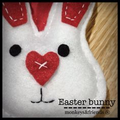 Easter bunny!  #monkeysandfriends #handmade #products