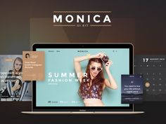Monica UI Kit on Market (http://market.designmodo.com/monica-ui/)