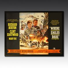 'Where Eagles Dare' - Burton and Eastwood