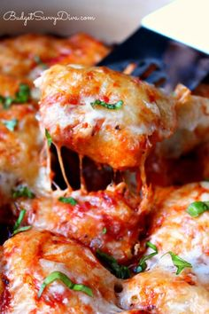 Bubble Up Pizza Recipe from Budget Savvy Diva