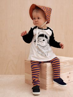 Mainio Clothing: organic body dress Bunny - cool baby clothes