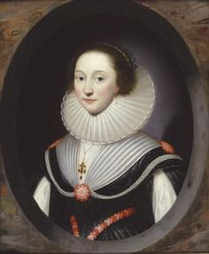 'An Unknown Lady', 1624. Private collection, USA. Formerly with The Weiss Gallery.