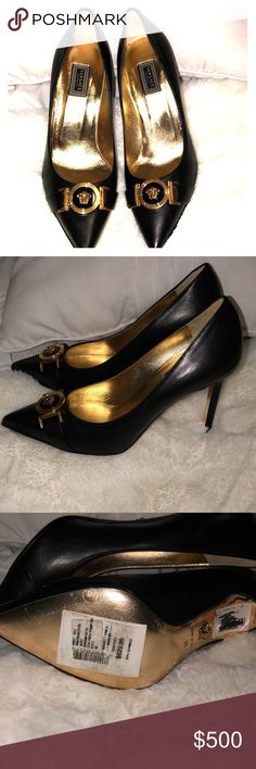 d82d1d681 12 Best Versace heels images | Heels, Shoe boots, Shoes heels