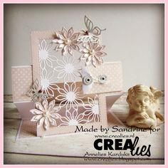 Made by Sandrine: https://www.crealies.nl/detail/1565541/16-06-04-sandrine-a.htm & http://crealies.blogspot.nl/2016/06/carte-bonne-chance.html  Articles Crealies: Create A Card n ° 23 Duo Dies n ° 35 Set of 3 n ° 35 Aparto n ° 02 Duo Dies No. 5 Crea Nest Lies XXL n ° 36 Matrice the coupe texte n ° 06