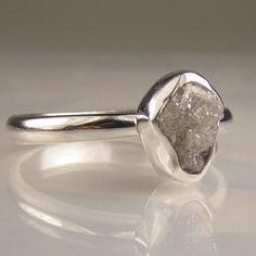 Ungeschliffener Diamant - einzigartig!