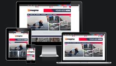 magma responsive magazine blogger template is the best and most advanced magazine template ever made by