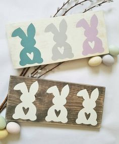Easter Decoration - Easter Bunny - Easter Bunny Sign - Rustic Easter Decor - Rustic Easter Bunny - Easter Sign - Easter Wood Sign by TimberbrookCottage on Etsy https://www.etsy.com/listing/516446737/easter-decoration-easter-bunny-easter