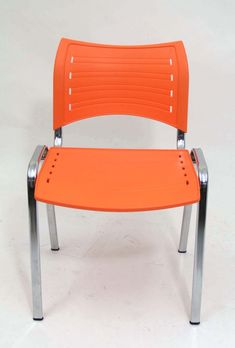 We're clearing our range of orange ISO Chairs. These chairs are perfect for Cafe usage or look great in your alfresco area for affordable seating.