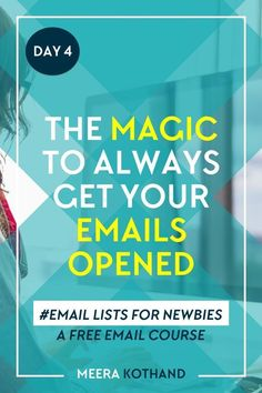 Looking for new ideas on how to grow your email list and what to send them? You know you need to take your email list seriously but you just dont know how. In this free email course youll learn how to start, nurture and finally profit from your email li