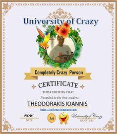 University of Crazy ( Greek ): Info