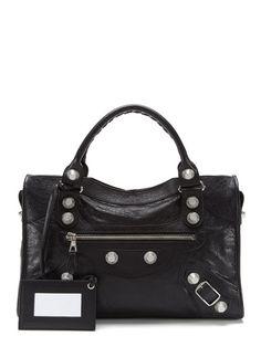 Balenciaga Giant Silver City Bag