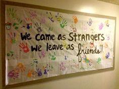 """Great """"Friends"""" idea for a Bulletin Board by jannine"""