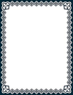 Free fleur de lis border templates including printable border paper and clip art versions. File formats include GIF, JPG, PDF, and PNG. Frame Border Design, Page Borders Design, Art Hama, Printable Border, Border Templates, Boarders And Frames, Quilt Labels, Wood Burning Patterns, Clip Art