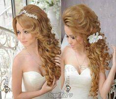 Peinados boda novia wedding Bride hair