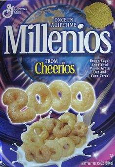 "old cereal boxes | Original ""Millenios"" Cereal Box (General Mills)"