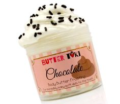 Chocolate Cake Body Butter Frosting 4oz