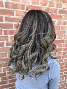 Dimensional balayage #caramel #balayage #balayage #caramel #chocolate #hair # longhair #curls