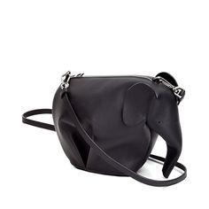 Loewe Animals - ELEPHANT MINIBAG Black Discover Loewe Animals products, like our ELEPHANT MINIBAG black. Enter now.