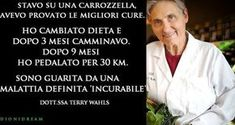 Terry Wahls seeing the failure of drugs and treatment, reduced to a wheelchair, decides to change nutrition and the miracle happens Health Diet, Health And Nutrition, Health And Wellness, Thai Chi, Brain Gym, Multiple Sclerosis, Real Beauty, Wellness Tips, Ayurveda