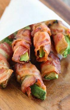 Bacon Wrapped Avocado Fries
