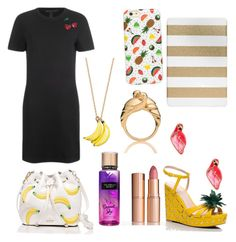 """""""Sin título #78"""" by fridamarciano on Polyvore featuring moda, Marc by Marc Jacobs, Kate Spade, Charlotte Tilbury y Agent 18"""