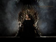 Catherine of Aragon Queen of England Certainly it is a somewhat warlike,the throne. But I think it looks goo. Catherine of Aragon The Iron Lady Queen Isabella, Queen Mary, The Tudors Tv Show, Isabella Of Castile, The Iron Lady, Catherine Of Aragon, Mary I, Iron Throne, Queen Of England