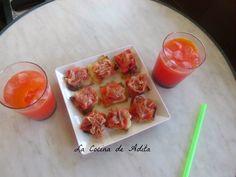 Canapés con pasta brick - Tvcocina . Recetas de Cocina Gourmet Restaurantes Vinos Vídeos