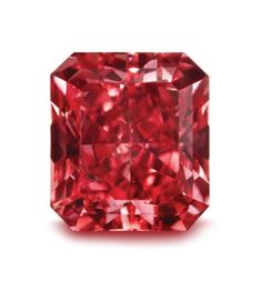 The Argyle Cardinal   Named like the beautiful red bird, this diamond is a beautiful Fancy Red with SI2 clarity, a Radiant cut, and weighing 1.21 carats. Speculation is that the Cardinal will sell for $2 Million. I estimate $3 Million. #red #argyle #diamond