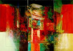 Abstract Art - Sinfonia III by Giuliano Censini e-card