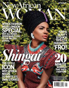 Africa Fashion Week London 2013 special edition of New African Woman Magazine