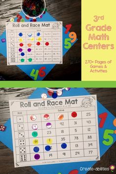 Grade Place Value Math Centers
