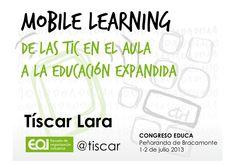 Mobile learning: de las TIC en el aula a la educación expandida M Learning, Mobile Learning, Literacy, Web 2, Labor, School Ideas, Design, Social Science, Social Networks
