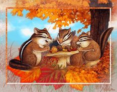 Animated Gif by Teresa Zeschmann Harvest Mouse, Thanksgiving Pictures, Gifs, Thanksgiving Blessings, Animation, Heavenly Father, Animated Gif, Bunt, Scene