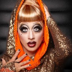 Bianca Del Rio, photographed by Magnus Hastings